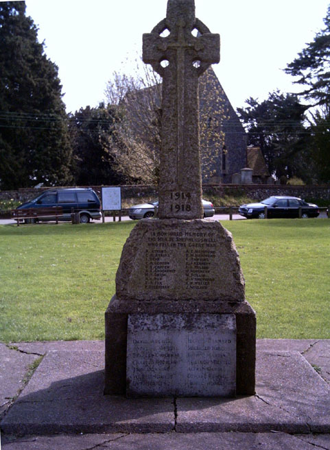 Shepherdswell Memorial