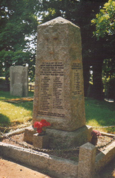 Woodnesborough Memorial