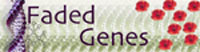 Small Faded Genes Logo